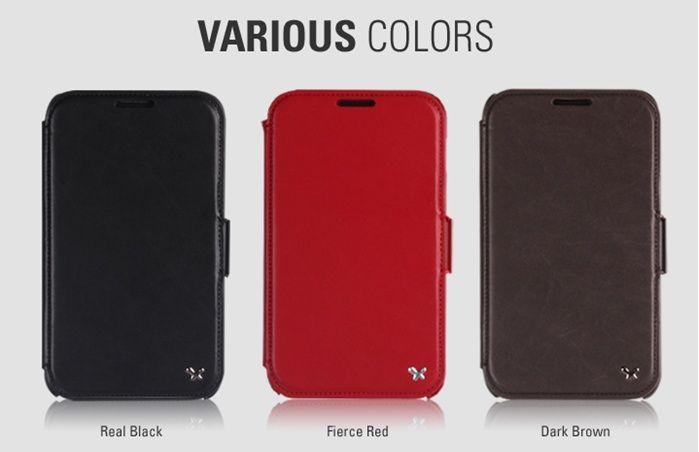 ZENUS Samsung Galaxy Note Leather Case N7000 MASSTIGE BLOCK FOLIO TYPE
