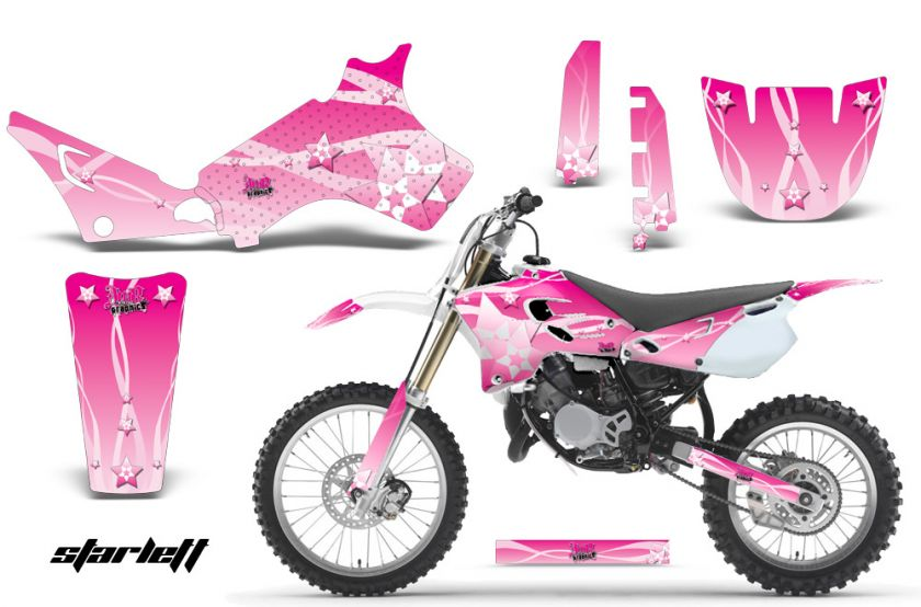 AMR RACING DIRT BIKE MOTORCYCLE STICKER GRAPHIC DECAL KIT YAMAHA YZ 80